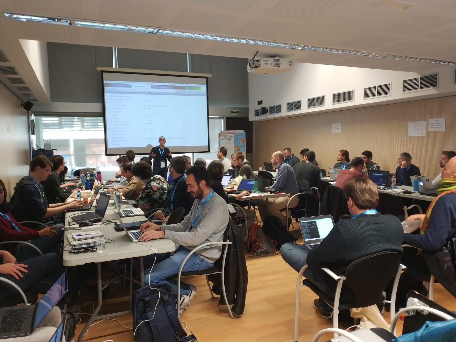 Courses@CRG: Nextflow